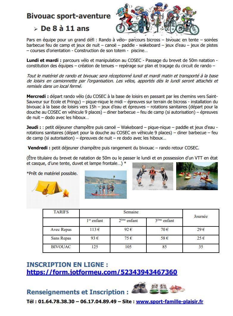 Plus de détails sur les VAT d'été