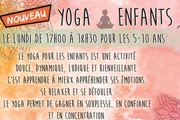 Découvrez le yoga pour enfants !